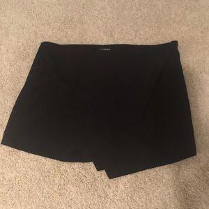 Black Pleated Skort